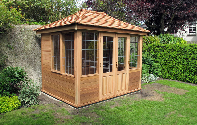 Timber Summerhouses designed, fitted & installed throughout Ireland