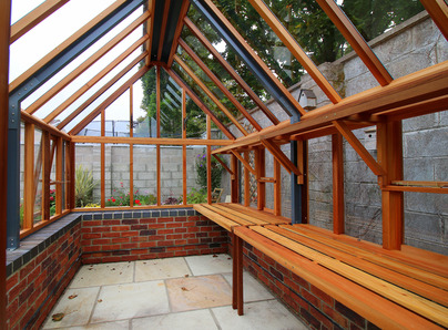 Traditional Victorian Timber Greenhouses supplied + fitted in Ireland