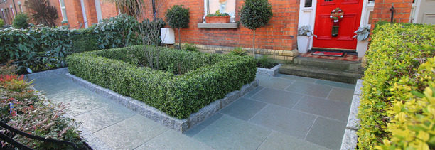 Ireland's best selling artificial Boxwood Hedging installed in Harold's Cross | Best prices guaranteed at GardenStudio. Tel 087-2306128