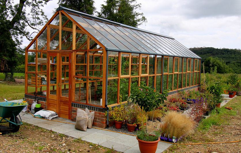 Bespoke Traditional Wooden Greenhouses - supplied + fitted throughout Ireland , call 087-2306 128 for details