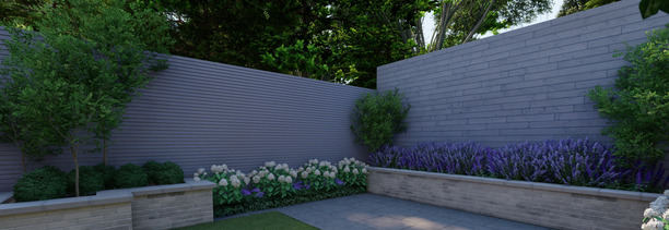 Small Garden Design in Foxrock|Townhouse Garden Design Dublin