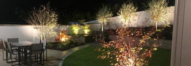 Professional Garden LED Lighting services | supplied + fitted in Dublin