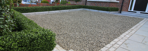 Driveway Design & Landscaping by Owen Chubb Landscapers