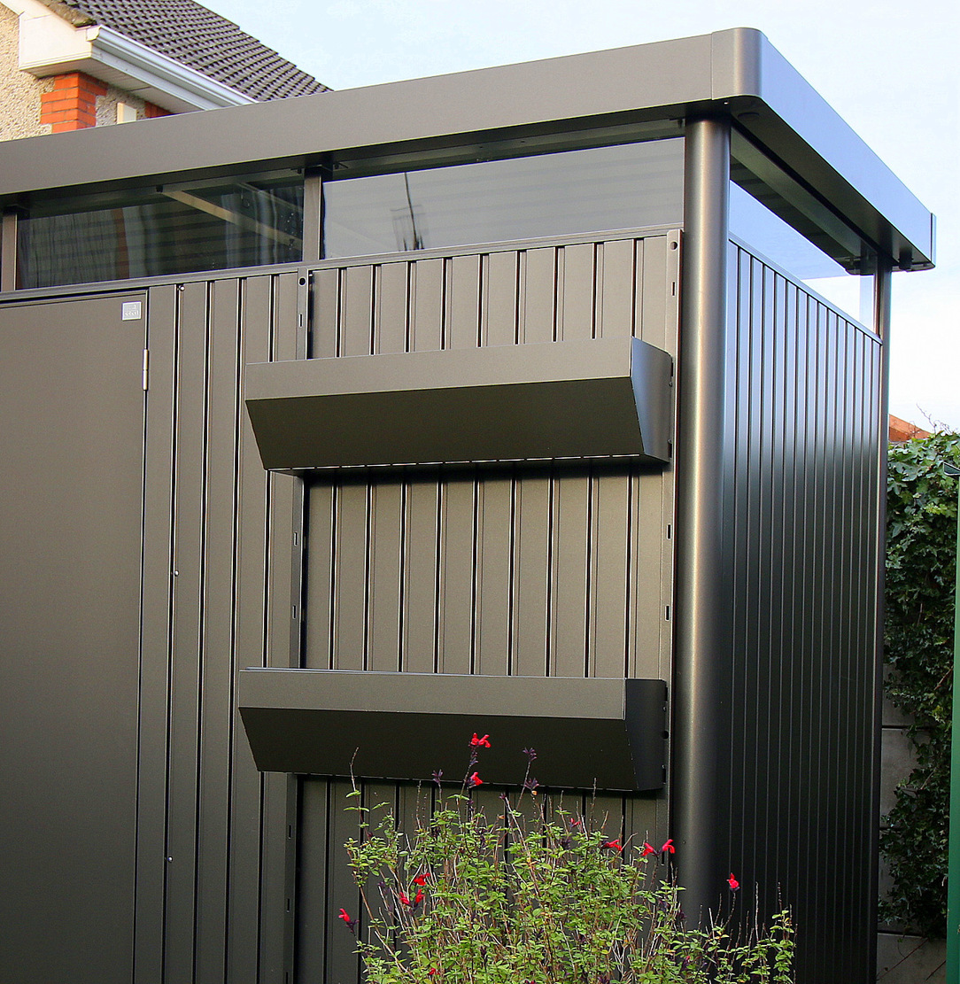 Biohort HighLine Garden Sheds | The stylish way to store your garden items