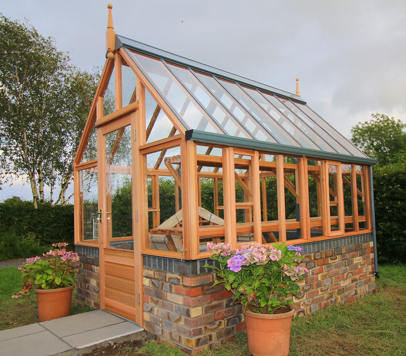 Gabriel Ash Greenhouses from, Owen Chubb Landscapers, Dublin