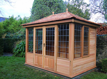 Garden Summerhouse | Cedar Garden Room | Installation in Ballsbridge, Dublin 4