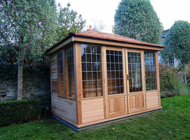 3.0m x 2.0m Garden Summerhouse installation in Ballsbridge, Dublin 4