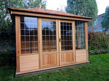 Custom made CEdar Garden Buildings | Exceptional handmade details | Dublin, Ireland
