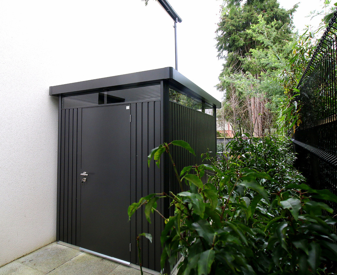 Biohort HighLine Garden Shed | Supplied + Fitted Nationwide by Owen Chubb Garden Landscapers, Tel 087-2306 128