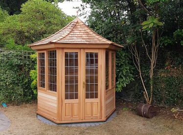 Cedar Garden Building installed in Dartry | Beautiful | Robust | Durable | Garden Summerhouses