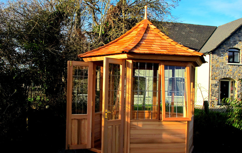 Garden Summerhouses in Western Red Cedar, Ireland
