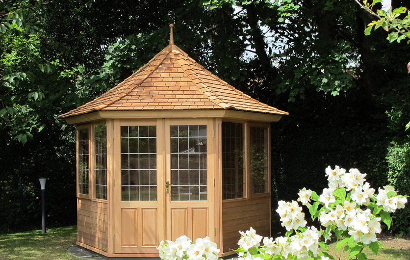 Bespoke Traditional Timber Summerhouses & Garden Rooms now on sale , call 087-2306 128 for details