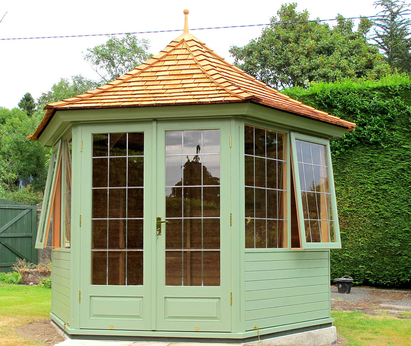Western Red Cedar Summerhouses with optional painted finish Ireland