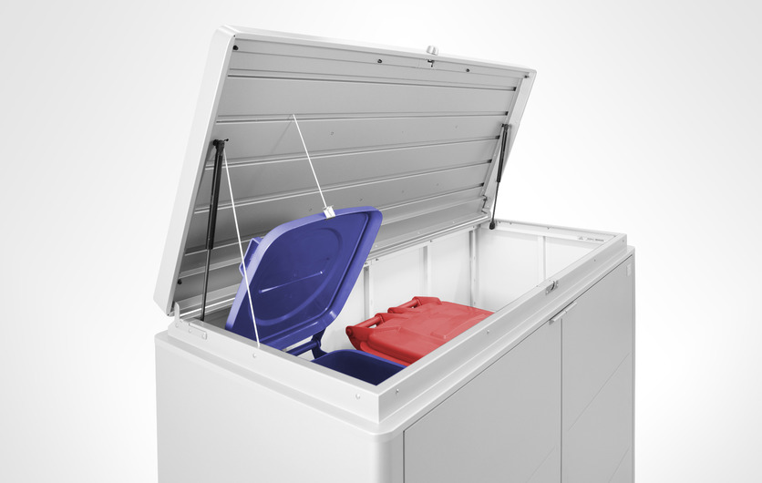 Biohort HighBoard Wheelie Bin Units are available in 2 sizes and choice of 3 colours | Get the best price in Ireland at Owen Chubb GardenStudio, Tel 087-2306 128