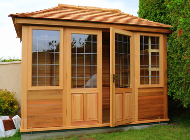 Cedar Garden Summerhouse installation | Bishopstown, Co Cork | Owen Chubb