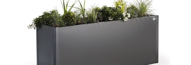 Biohort Belvedere Planters - extremely durable metal planters, perfect for garden, balcony and patio areas | On sale now at Owen Chubb GardenStudio, Terenure. 087-2306 128