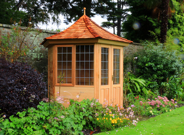 Cedar Garden Summerhouse installation | Booterstown, Co Dublin | Owen Chubb