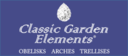 Classic Garden Elements, Obelisks, Arches and Trellisses