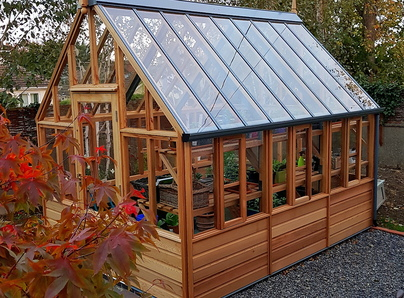 RHS Wisley Greenhouse - traditional Victorian timber Greenhouse, Mount Merrion Dublin.
