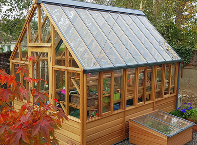 RHS Wisley Greenhouse & Coldframes installation in Mount Merrion, Co Dublin