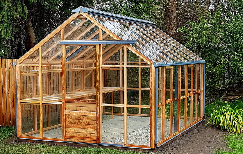 Classic Cedar Greenhouse - the superior timber greenhouse