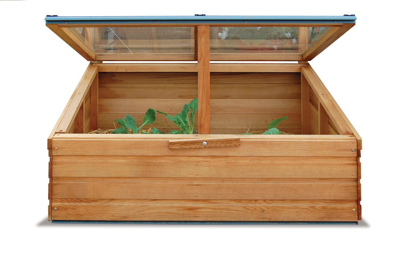 Classic Cedar Timber Baby Grand Coldframe | Available from Owen Chubb GardenStudio, Dublin. Tel 087-2306 128ose arch smothered with a beautiful climbing rose display