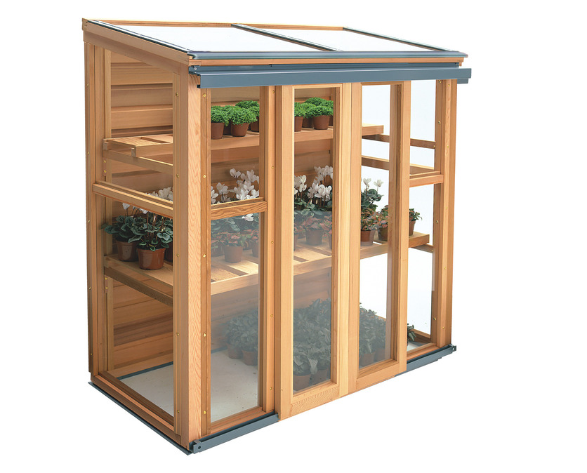 The Gabriel Ash Upright Coldframe | Available from Owen Chubb GardenStudio, Dublin. Tel 087-2306 128